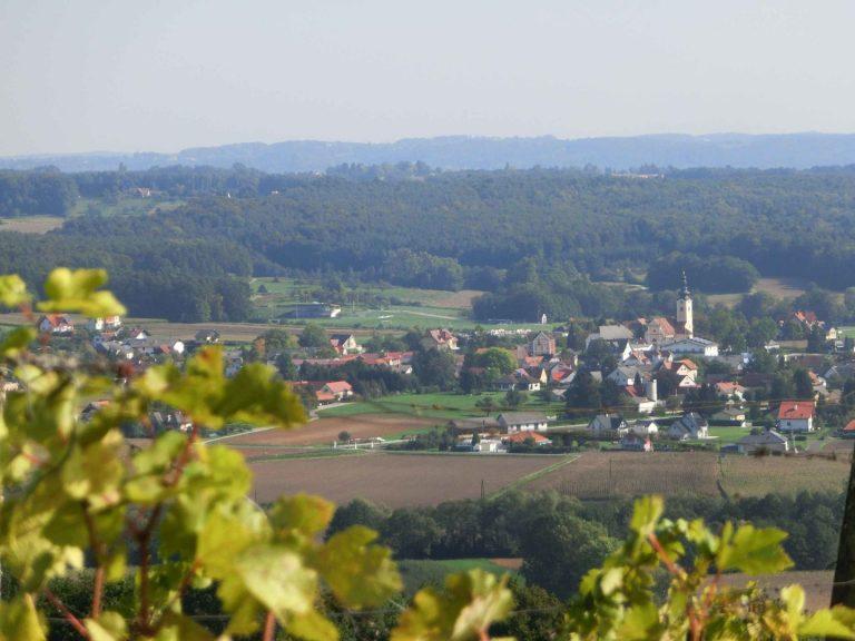 Panoramaansicht Söchau