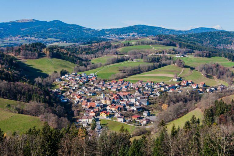 Luftaufnahme Gemeinde Schäffern