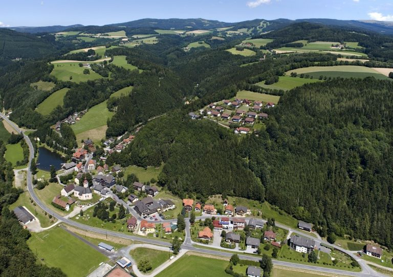 Mönichwald Luftaufnahme