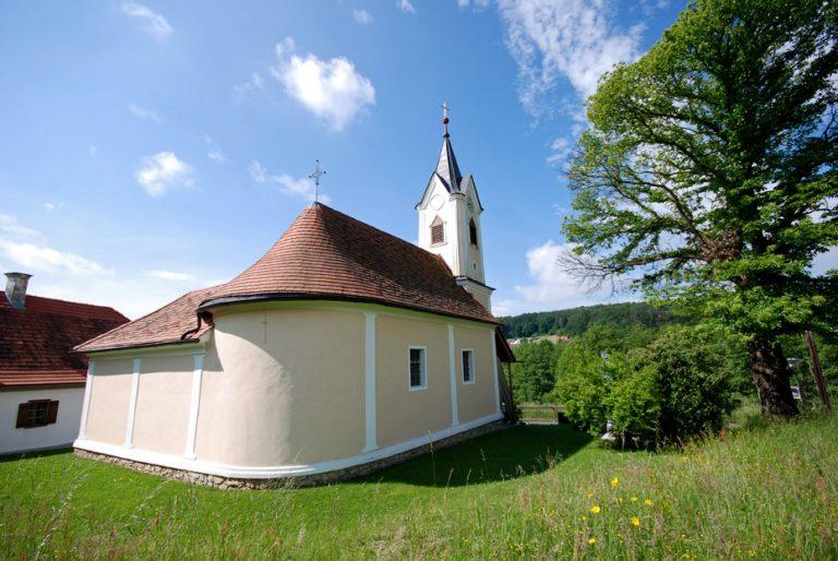 Ortskern mit Kapelle