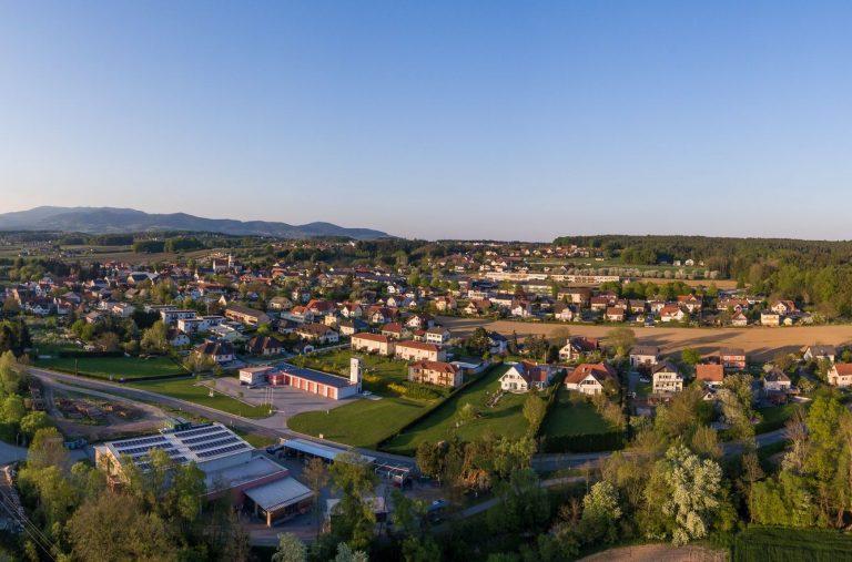 Panoramaansicht Kaindorf
