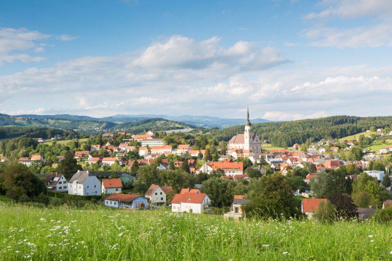 Ortsansicht Pischelsdorf am Kulm