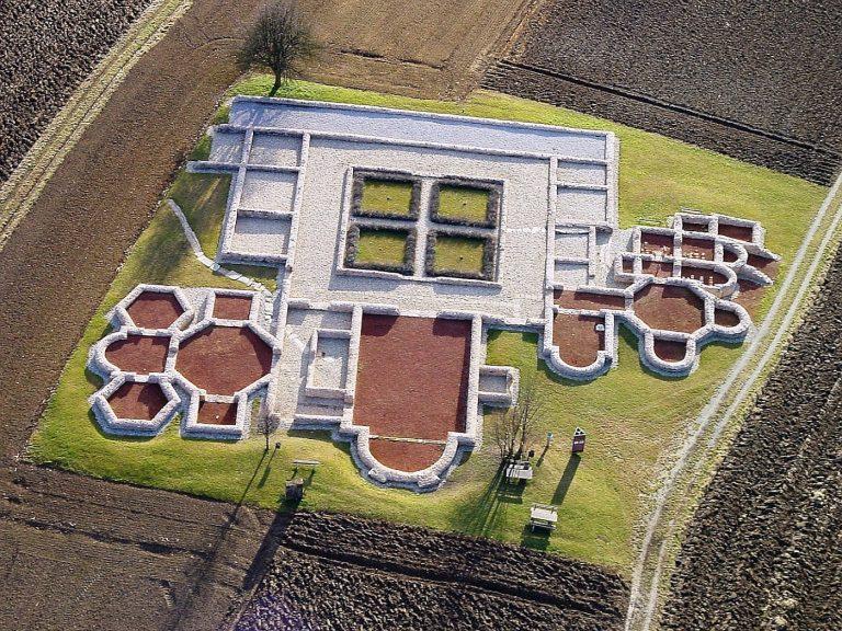 Villa Rustica - Römische Ausgrabungen