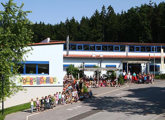 Volksschule in der Marktgemeinde