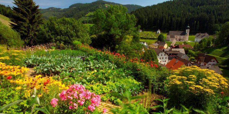 Bauerngarten in Gasen