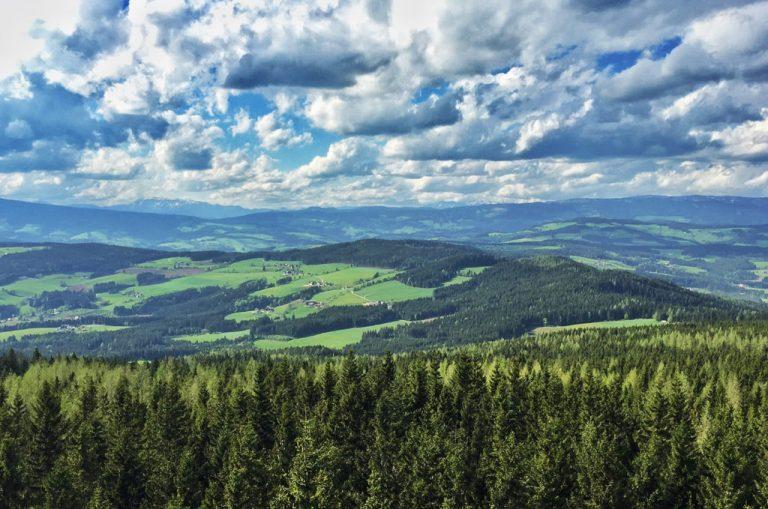 Landschaft in der Gemeinde Miesenbach